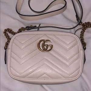 Great condition White Gucci Bag